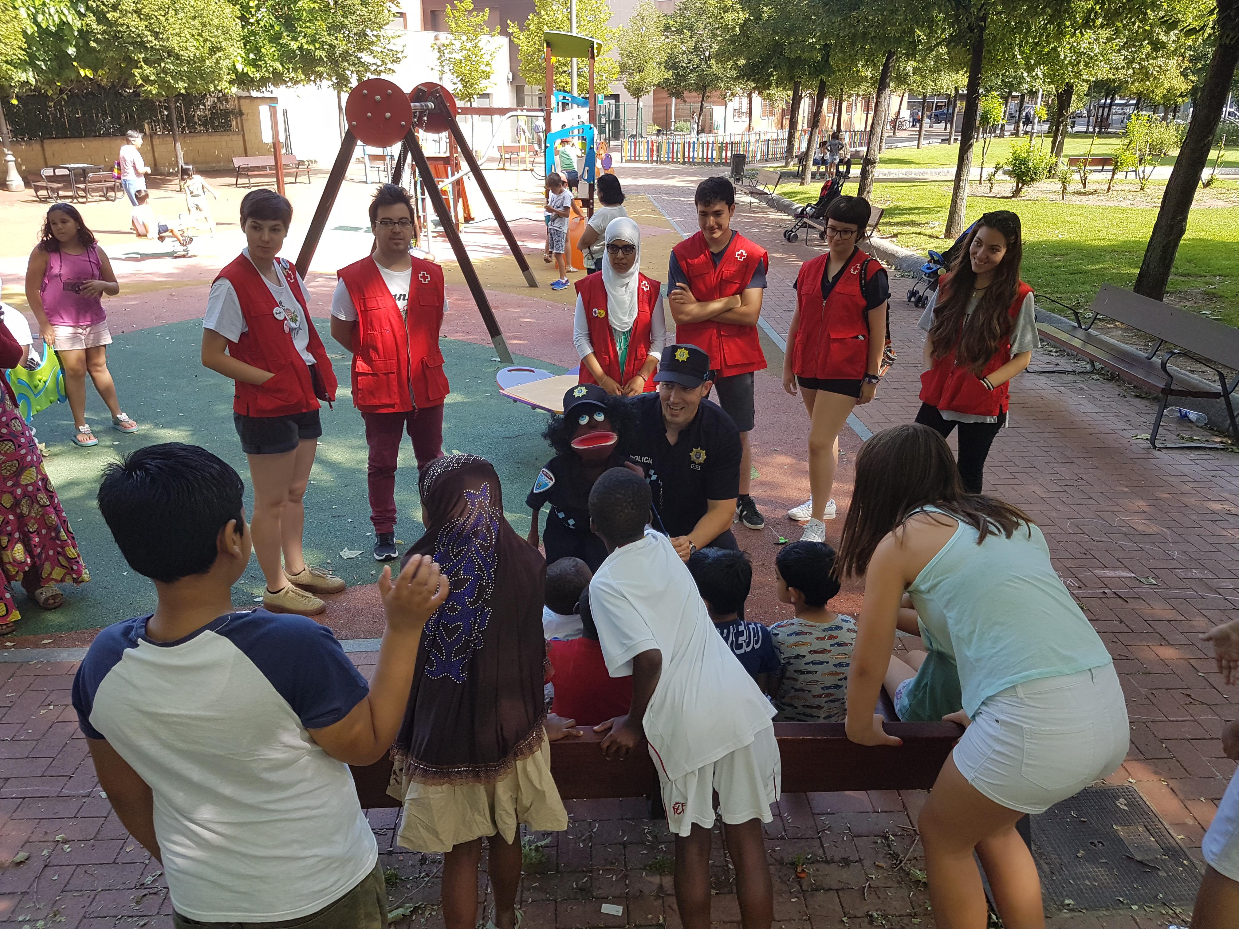 Niños de Cruz Roja Logroño
